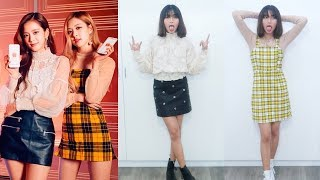 Gambar cover recreating blackpink outfits from shopee tvc