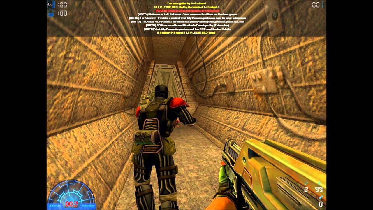 Aliens vs. Predator 2 Multiplayer 01 - YouTube