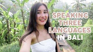 Download Video Vlogging in 3 Languages!⎮A Day In Bali, Indonesia⎮混血儿在巴厘岛的一天 MP3 3GP MP4