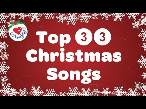 top-33-christmas-songs-and-carols-with-lyrics-playlist-2019-🎅