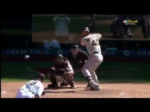 Must C: Bumgarner homers twice on Opening Day 2017