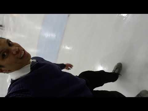 Ice skating on the Faithful Ambassadors Bible Baptist Academy field trip!