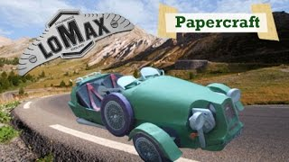 Papercraft Auto British Collection 80's: Tricyclecar Lomax!