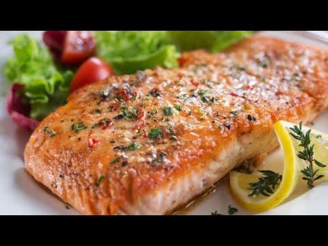 receta de salmón para la dieta cetosis
