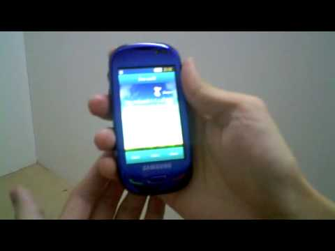 Samsung Blue Earth hands on video Crave