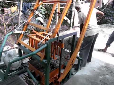 Wega Cement Block Making Machine(බ්ලොක් ගල් යන්ත්රය)