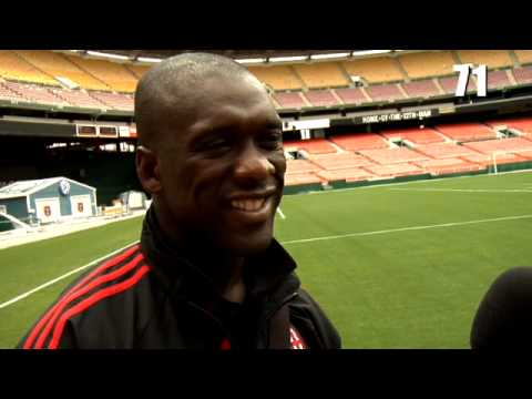 90 Seconds with Clarence Seedorf