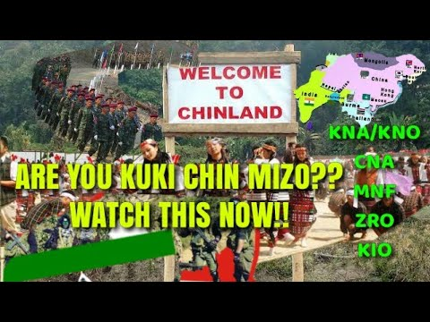 Ethnic Separatism |The Kuki Chin Insurgency of Indo Myanmar/Burma By Telsing Letkhosei Haokip