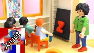 Film crèche Playmobil – Crèche Playmobil – Les enfants apprennent l'alphabet