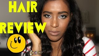 BEST HEALTHY SYNTHETIC HAIR EVER ?! REVIEW
