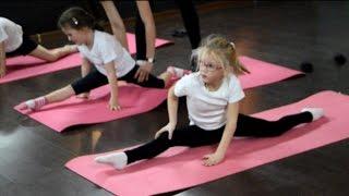 Открытый урок по гимнастике старшей группы на Рижском