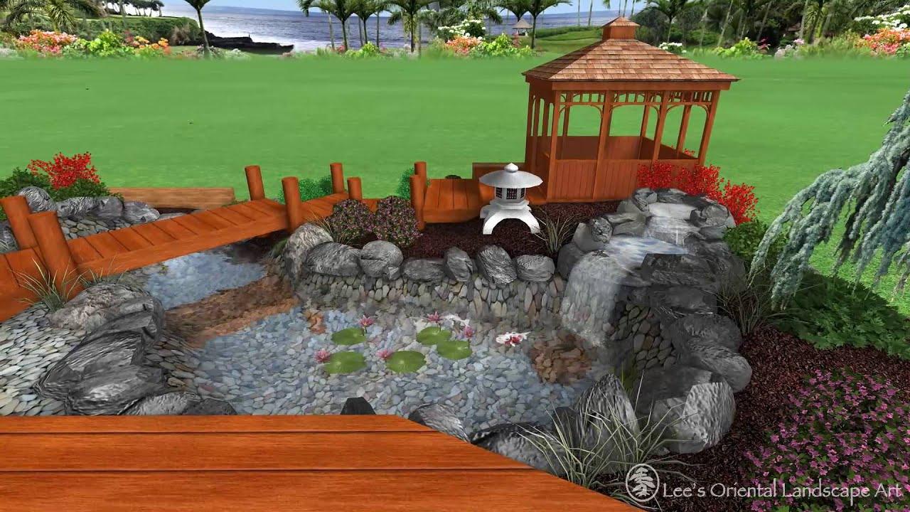 Japanese Garden Design - Ft. Washington, MD - Backyard ...