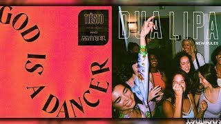 God Is A New Dancer - Tiesto, Mabel & Dua Lipa (MASHUP) Video