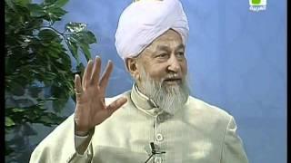 Liqa Ma'al Arab 11 August 1998 Question/Answer English/Arabic Islam Ahmadiyya