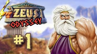 Let's Play Zeus: Master of Olympus (The Odyssey) - 1