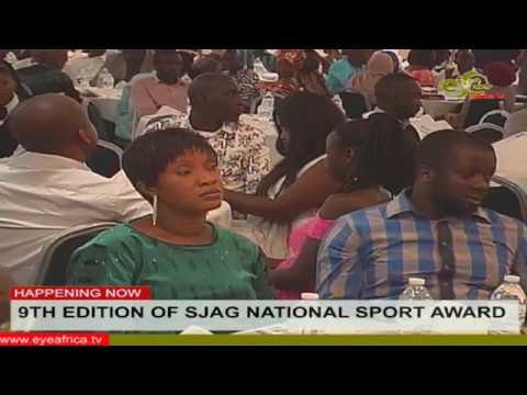 9TH EDITION OF SJAG NATIONAL SPORT AWARD