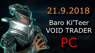 Warframe - Baro Ki'Teer (PC) - Primed Charged Shell & Taxon Desert-Camo Skin