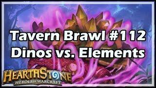 [Hearthstone] Tavern Brawl #112: Dinos vs. Elements