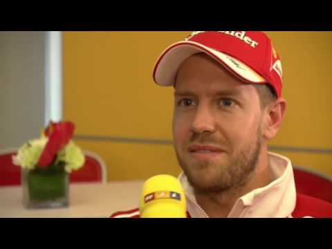 F1 2017 Canadian GP | Sebastian Vettel talks about social media & more (German)