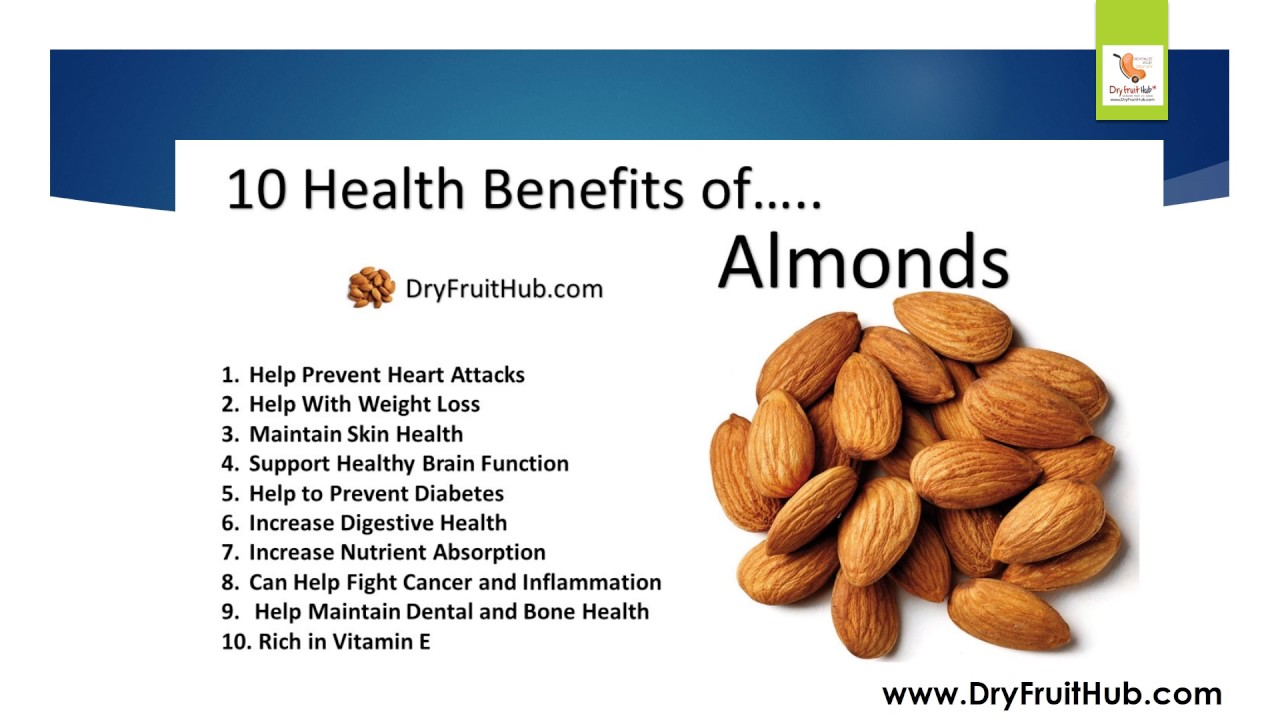 HEALTH BENEFITS OF ALMONDS PDF DOWNLOAD