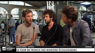 Anatomies d'Architectures présente Le Tour de France des Maisons Écologiques (Éditions Alternatives)