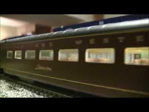 Review of MTH Norfolk & Western Class J 611 steam engine/passenger car