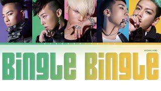 Bigbang - Bingle Bingle ( Color Coded Hang|Rom|ITA)