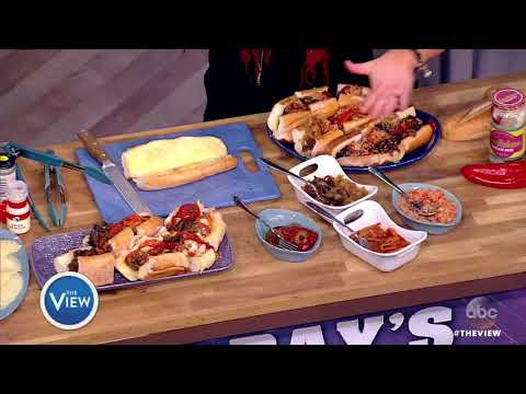 Rachael Ray Makes Philly Cheesesteaks | The View