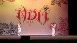 ndm 2014 ek do teen kamli dance by rayna srisha