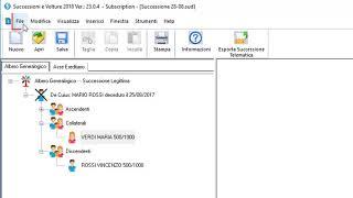 Successione Telematica: come importare visura file P7M