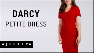 Petite Red pencil dress - Darcy Red pencil dress by Jeetly