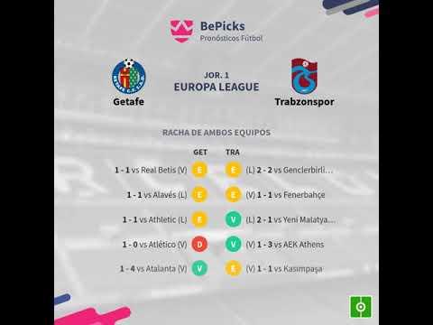 Previa Getafe vs Trabzonspor - Jornada 1 - Europa League 2019 - Pronósticos y horarios