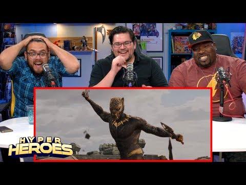 Marvel Studios' Black Panther - Official Trailer Reaction