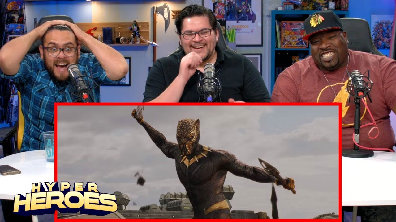 Marvel Studios' Black Panther – Official Trailer Reaction