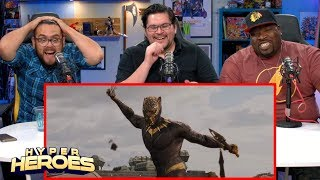 Marvel Studios' Black Panther - Official Trailer Reaction