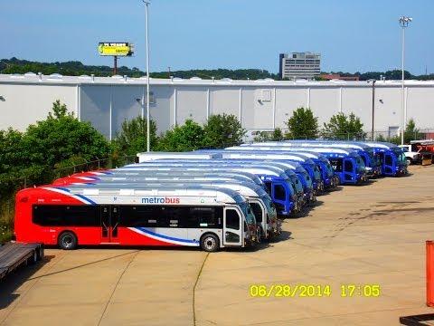 🚍/📹 WMATA Metrobus: Bus Observations (June 28, 2014) [#W001]