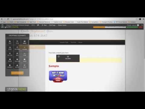 InstaTheme | Visual Editor