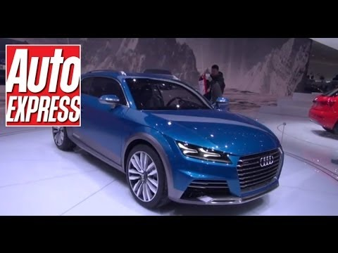 Audi Allroad Shooting Brake at the Detroit Motor Show 2014 - Auto Express