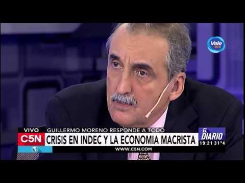 C5N - El Diario: Entrevista a Guillermo Moreno