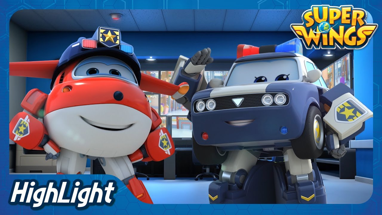 Catch the Suitcase! (Netherlands) | SuperWings season3 Highlight | EP05