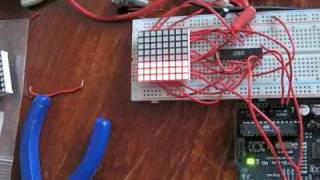 LED Matrix + AS1107