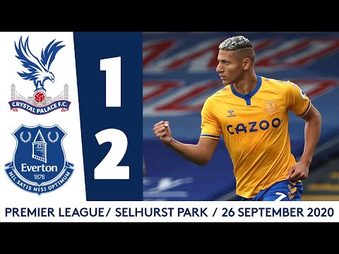 CRYSTAL PALACE 1-2 EVERTON | CALVERT-LEWIN + RICHARLISON EXTEND PREMIER LEAGUE WINNING STREAK