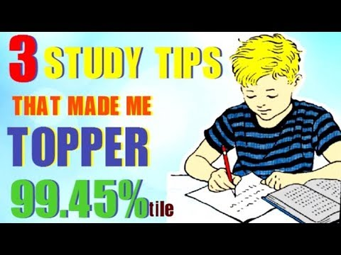 3 SECRET STUDY TIPS TO SCORE HIGHEST IN EXAMS MOTIVATIONAL (HINDI)  HOW I BECAME TOPPER