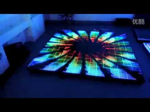 P15 full color led video dance floor  Lilai LED