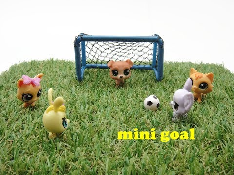 DIY Miniature Doll Mini Soccer Ball with Goal Post - Easy!