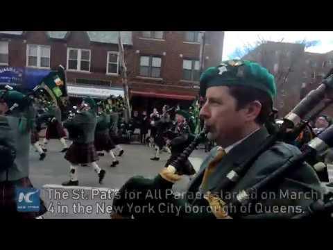 Pipe bands, Irish dance herald St. Patrick's Day