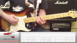 How To Play Owner Of A Lonely Heart by Yes (intro riff + TAB)
