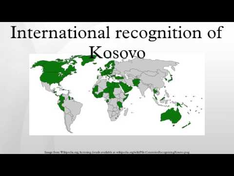International recognition of Kosovo
