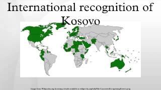 International recognition of Kosovo