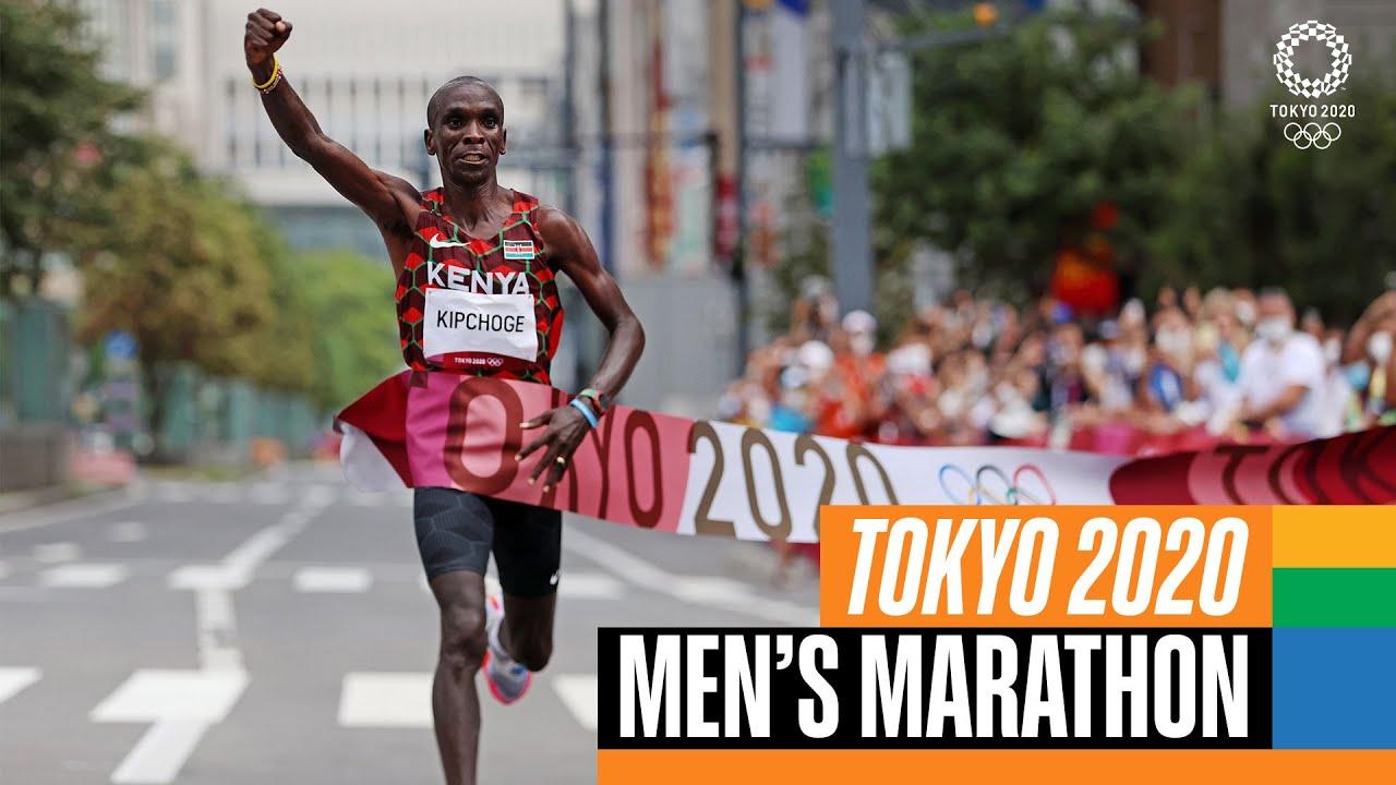 Download Kipchoge 🇰🇪 wins marathon gold again 🥇! | Tokyo Replays